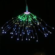 Fireworks Style Copper String Colourful Lights with Remote Control