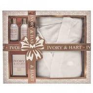 *Half Price* Ivory & Hart Robe Gift Set