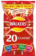 Walkers Classic Variety Crisps 20x25g - £1 Off!