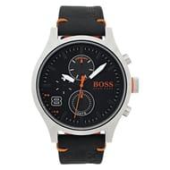 Hugo Boss Orange Amsterdam Men's Black Strap Watch