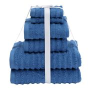 Argos Home Quick Dry 6 Piece Towel Bale - Ink Blue CLICK & COLLECT