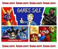 GAMES SALE at BASE
