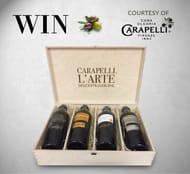 Win a Premium Collection of Carapelli Olive Oil