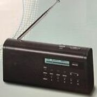 ONN DAB+ Digital Radio with Backlit LCD Display