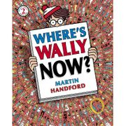 Weres Wally Now? Puzzle book instore