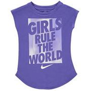 Nike Girls Rule T Shirt Infant Girls