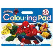 Spiderman Giant Colouring Pad Kit