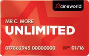 £10 off 12 Month Unlimited Membership Orders at Cineworld