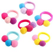 6X Da.Wa Elastic Hair Bands Attractive Rope Tie Solid Ponytail Holder