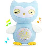 Beautiful Musical Owl with Bright Light