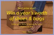 Win a Year's worth of Shoes and Bags