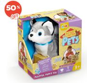 Bargain! Pitter Patter Pets Playful Puppy Pal - Husky at the Entertainer