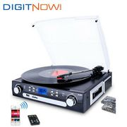 Bluetooth Record Player Turntable with Speakers