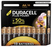 Duracell LR6/MN1500 plus Power AA Size Batteries,18 Batteries