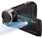 Sony Full HD Handycam Camcorder with Built-in Projector - Black - 30% Off!
