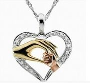 Heart Shaped Necklace JUST £1 from Wish