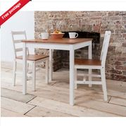 Dining Table Bistro Kitchen in Natural Pine Choice of Colours Only £24.99