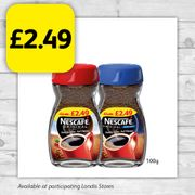 Nescafe 100g- Only £2.49