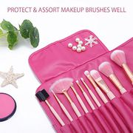 10 Pcs Premium Gold Pink Spectrum Makeup Brushes Set - £3.85 from Amazon