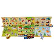 Wooden Puzzle - Great Learning toy ONLY £5