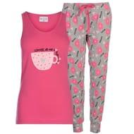Miso Vest Pyjama Set Ladies