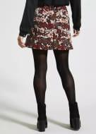 Papaya Petite Floral Jacquard A-Line Skirt