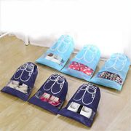 Portable Drawstring Pouch Travel Storage Bag Clothes Luggage Bags Shoe Bag ME