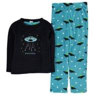 Crafted Cuddle Fleece Pyjamas Junior