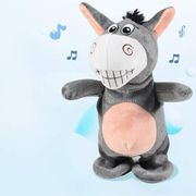 Interactive Toys Talking Donkey Repeats What You Say Electronic Pet Buddy