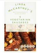 Iceland - Linda McCartney's 6 Vegetarian Sausages 300g [Suitable for Vegans]