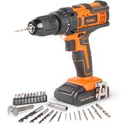 VonHaus Cordless 18V Drill Driver with 1500mAh Li-Ion Battery