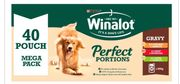 Winalot Perfect Portions Dog Food Chunks in Gravy Beef