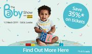 Save over 35% on the Baby Show Tickets