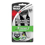 Wilkinson Sword Razor Xtreme 3 Sensitive 4pk Only £2