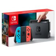 NINTENDO SWITCH CONSOLE - NEON RED and NEON BLUE Only £269.95