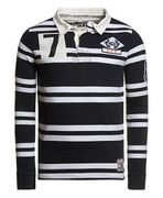 Mens Superdry Factory Second Training Ground Shirt Navy