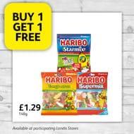Haribo deal... Buy 1 Get 1 Free
