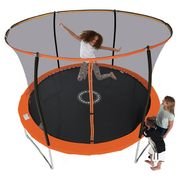 8ft Trampoline with Folding Enclosure