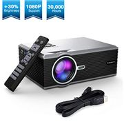 FLOUREON Home Theater Video LCD Projector HD1080P