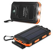 FLOUREON 10,000mAh Solar Charger Power Bank for £5.99 Only
