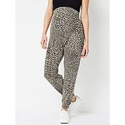 Maternity Bottoms with Leopard Print