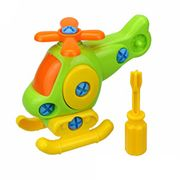Kids Baby Early Learning Airplane Puzzle Educational Toys (Helicopter)