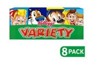Kellogg's Variety 8 Pack Cereal