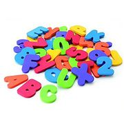 36PCS Numbers and Letters Puzzle Bath Toys
