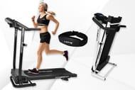 Speedrunner PRO Treadmill with Pulse Belt & Bluetooth - 2 Colours!