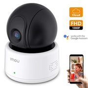 Security Camera,1080P FHD Wi-Fi IP Camera, PT Dome Camera, Motion Detection