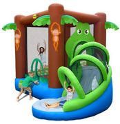 Action Air Crocodile Airflow Inflatable Bouncy Castle and Slide Play Area