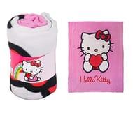 Hello Kitty Polar Fleece Blanket 160cm x 125cm at Amazon