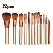 12pcs Cosmetic Makeup Brush Set Kit Powder Foundation Eyeshadow Eyeliner