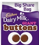 Free BIG Share Bag of Chocolates up to Value of £2.50@Tesco via Vodafone Rewards